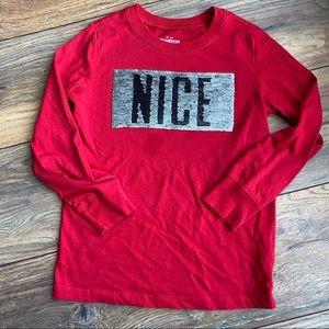 {preloved} Boy's Christmas Flippy Shirt